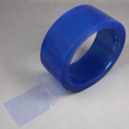 Rolka folii PCV standard, przezroczysta z lekkim niebieskim zabarwieniem