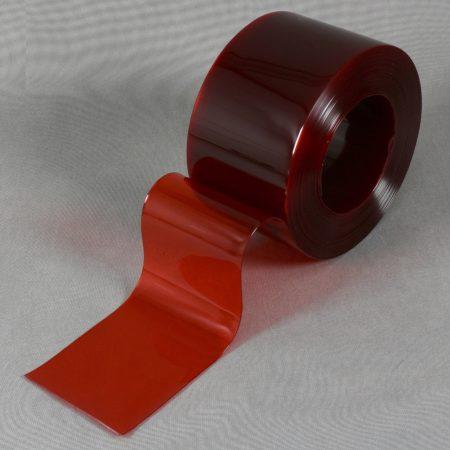 Folia PCV kolorowa przezroczysta czerwona