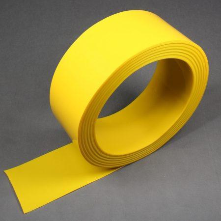 Pas folii PCV w kolorze żółtym