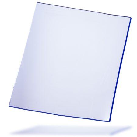 Arkusz folia PCV Standard, przezroczysty z lekkim niebieskim zabarwieniem