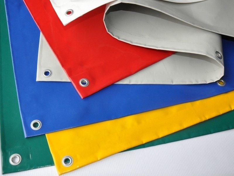 Kurtyna plandekowa nieprzezroczysta – dostępna w 10 kolorach, różne systemy mocowania