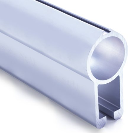 Profil aluminiowy do bramy wahadłowej