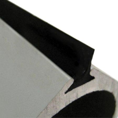Uszczelka gumowa do profilu bramy wahadłowej