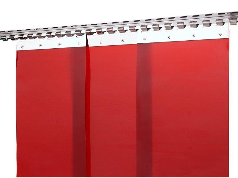 kurtyna-spawalnicza-grzebienowa-czerwona