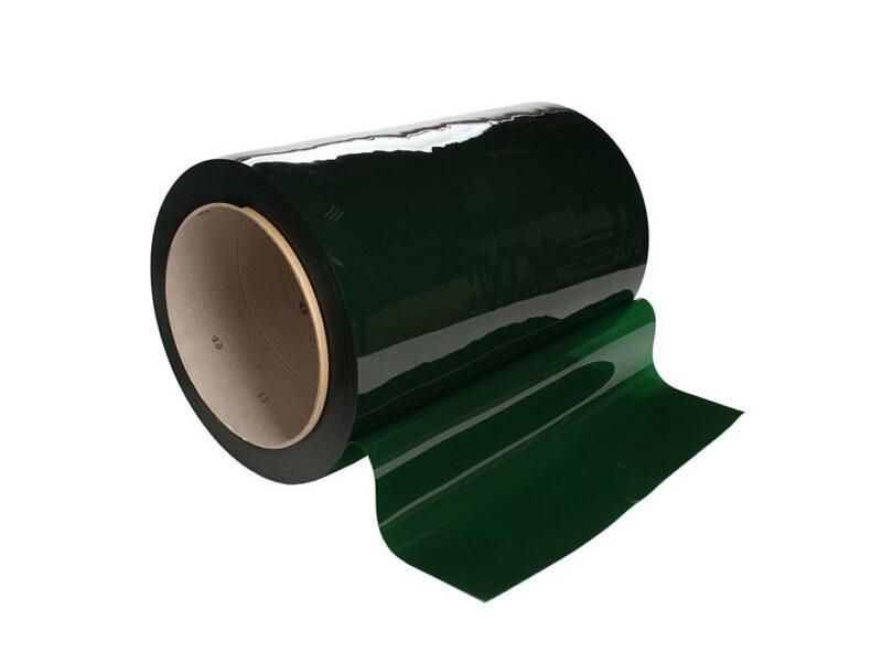 Lamela spawalnicza zielona 570mm x 1mm