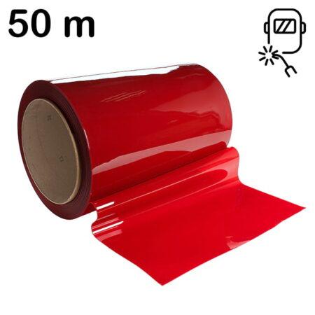 Rolka 50m lamela spawalnicza w kolorze czerwonym