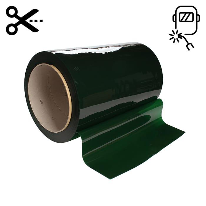 Lamela spawalnicza 570mm x 1mm w kolorze zielonym - sprzedaż na metry