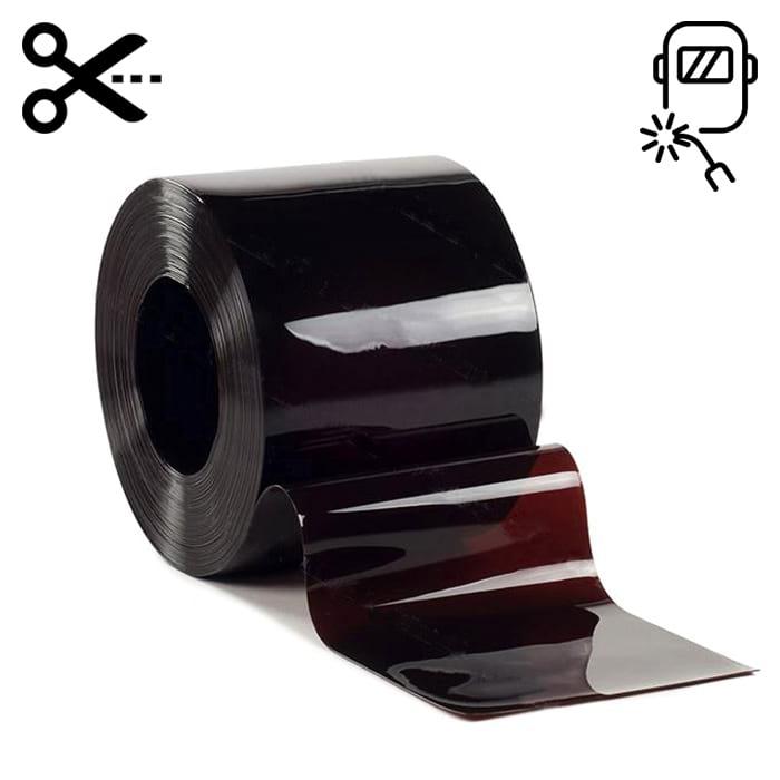 Lamela spawalnicza 300 mm x 2 mm brązowa – sprzedaż na metry