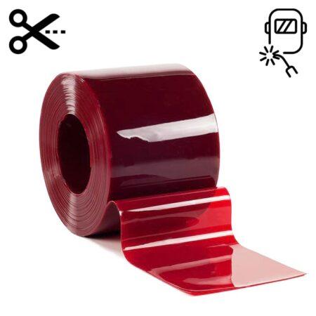 Lamela spawalnicza czerwona o wymiarze 300 mm x 2 mm sprzedaż na metry