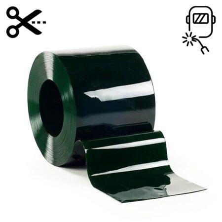 Lamela spawalnicza w kolorze zielonym wymiar 300 mm x 2 mm sprzedawana na metry