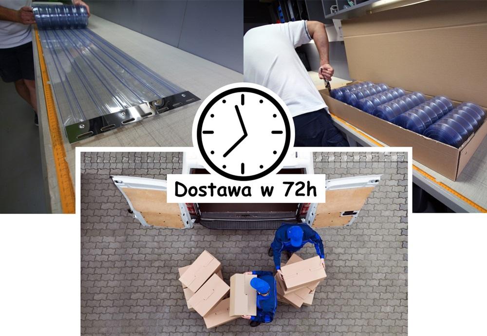 Produkcja i dostawa kurtyn paskowych w 72 godziny od zamówienia