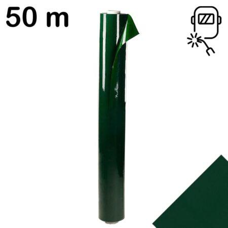 Lamela spawalnicza 1400 mm x 0.4 mm w kolorze zielonym o długości 50m zwinięta w rolke