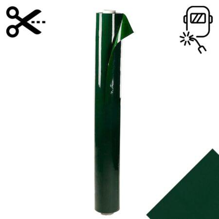 Lamela spawalnicza 1400 mm x 0.4 mm w kolorze zielonym sprzedawana na metry