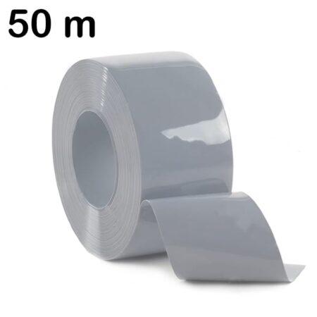 Pas PCV w kolorze szarym - rolka 50 m