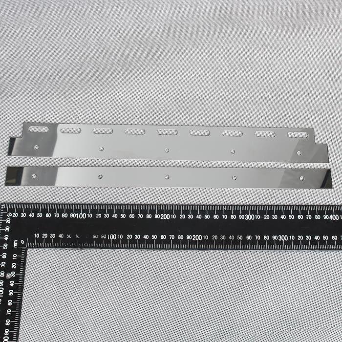 Płytka służąca do zamocowania pasa PCV o szerokości 400 mm